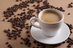 De tijd van de koffie - Kaffeezeit Stock Afbeeldingen