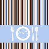 De tijd van de lunch Stock Fotografie
