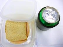 De Tijd van de lunch! Stock Foto