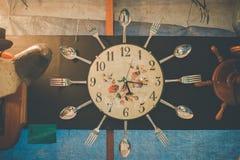 De tijd van de maaltijd royalty-vrije stock foto