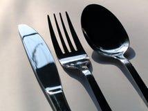 De tijd van de maaltijd Stock Foto's