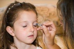De tijd van de make-up royalty-vrije stock afbeelding