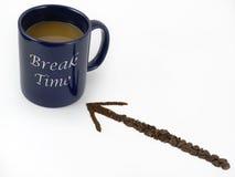 De Tijd van de onderbreking Stock Foto's