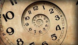 De tijd van de oneindigheid. Stock Afbeeldingen