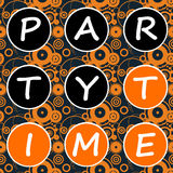 De tijd van de partij vector illustratie