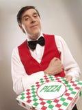 De tijd van de pizza. royalty-vrije stock foto
