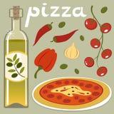 De tijd van de pizza Royalty-vrije Stock Afbeelding