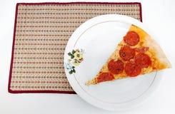 De Tijd van de pizza Stock Foto's