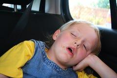 De tijd van de slaap Stock Foto's