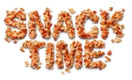 De tijd van de snack royalty-vrije illustratie