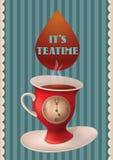De tijd van de thee Royalty-vrije Stock Foto
