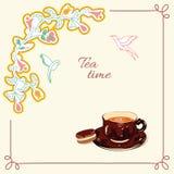 De Tijd van de thee Stock Foto's