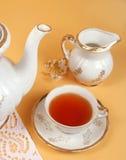 De tijd van de thee stock afbeelding