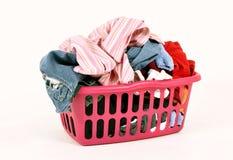 De tijd van de wasserij Stock Foto's