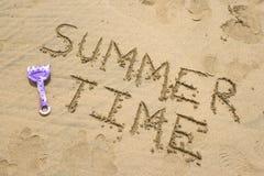 De tijd van de zomer Stock Foto's