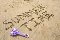 De tijd van de zomer Stock Afbeeldingen