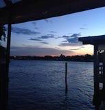 De tijd van de zonsondergang Royalty-vrije Stock Foto's