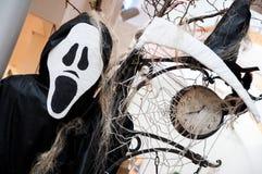De tijd van Halloween Stock Afbeeldingen
