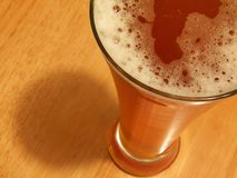 De tijd van het bier Stock Afbeeldingen