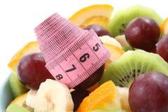 De tijd van het dieet Stock Fotografie