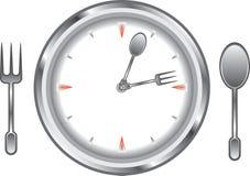 De tijd van het diner Stock Foto's