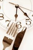De tijd van het diner Stock Foto