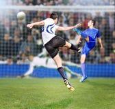 De tijd van het voetbal royalty-vrije stock foto's