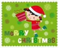 De tijd van Kerstmis royalty-vrije illustratie