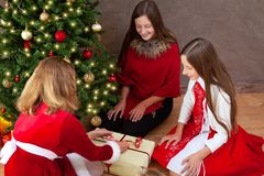 De tijd van Kerstmis royalty-vrije stock foto's