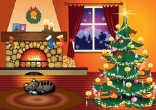 De tijd van Kerstmis. Royalty-vrije Stock Foto