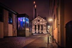 De tijd van Kerstmis in Zweden Royalty-vrije Stock Foto's