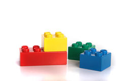 De tijd van Lego Stock Foto's