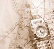 De tijd van Londen Stock Foto