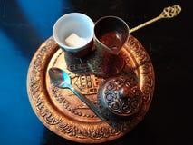 De tijd van Sarajevo Kaffee Royalty-vrije Stock Afbeeldingen