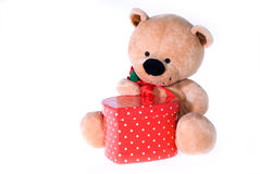 De tijd van valentijnskaarten Royalty-vrije Stock Foto's