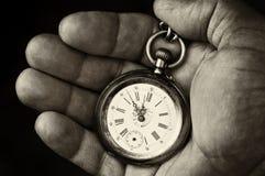 De tijd vliegt Stock Foto's