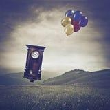 De tijd is vluchtig Stock Foto's