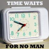 De tijd wacht op de geen mens Stock Foto's