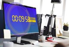 De Tijdconcept van het chronometer Nieuw Verslag Royalty-vrije Stock Afbeeldingen