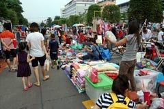 De tijdelijke markt Stock Afbeeldingen