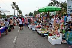 De tijdelijke markt Stock Foto's