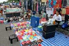 De tijdelijke markt Royalty-vrije Stock Foto
