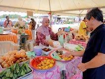 De tijdelijke markt van Maleisië Royalty-vrije Stock Foto