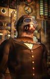 De tijdreiziger van Steampunk Royalty-vrije Stock Foto