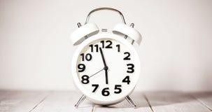 De Tijdspanne van de kloktijd stock footage