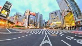 De Tijdtijdspanne Tokyo van het stadsverkeer stock videobeelden