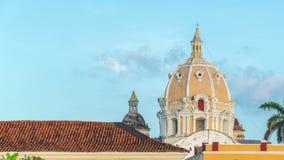 De Tijdtijdspanne van Cartagena stock footage