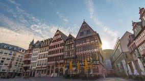 De Tijdtijdspanne van Frankfurt stock videobeelden