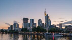 De Tijdtijdspanne van Frankfurt stock footage
