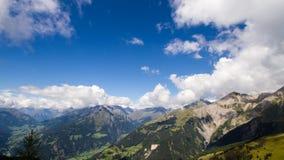 De tijdtijdspanne van de Grossvenediger alpiene zomer stock video